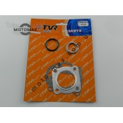 Прокладки цилиндра Suzuki Address/Sepia/ Mollet, 50cc, ø-41 мм, (комплект), TVR (лепест.клапан)