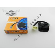 Регулятор напряжения 4т GY6-125/150сс 5 проводов (фишка папа) TVR