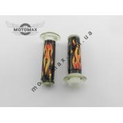 Ручки газа силиконовые G пламя, пара