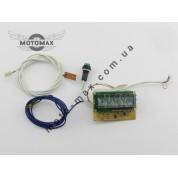 Спидометр электронный (встраиваем.схема+эл.табло+датчики)