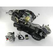 Двигатель 4т GY6-150сс (+карбюратор+комм+катушка)