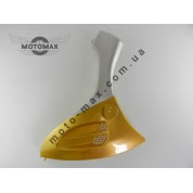 Пластик передней боковины, Grand Prix, QT-6  хоккеист / BOY-125 , левая желтая