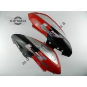 Пластик верхних задних боковин RACE/RS-50/Keewey Focus (пара) красно-черные