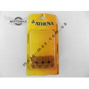Ролики вариатора  20-12мм Yamaha CYGNUS/MAJESTY ATHENA Вес: 9 грам.