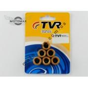 Ролики вариатора 4т GY6-125/150cc, 18-14 мм, TVR/Gpoil (китай)