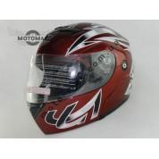 Шлем трансформер №103, бордовый