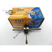 Коленвал 2т 50сс Stels (как Yamaha 90cc) p-12мм (TVR китай) 1E40QMB