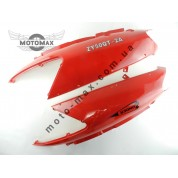 Пластик верхних задних боковин STORM NEW (красные) пара