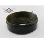 Тормозной барабан ZUBR/Mustang/Lifan (крепление на 4 отверстия)