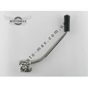 Ножка заводная МОТО CG/CB-200/250cc (хром)