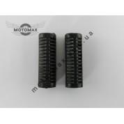 Подножки пассажирские резиновые Дельта (пара)