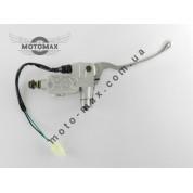 Гидравлическая машинка Yamaha Axis/Aprio/Artistic/Next Zone /3KJ/ GY6 (серебристая)