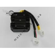 Регулятор напряжения 4т GY6-125/150сс 6 проводов (3+3 фишка мама)