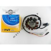 Катушка генератора 4т GY6-125/150сс 10+1 катушка TVR