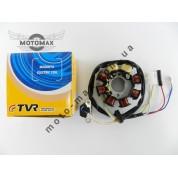 Катушка генератора 4т GY6-50/60/80сс (6+2 катушек) TVR