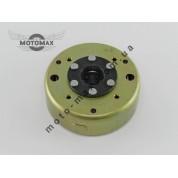Магнит генератора 4т GY6-125/150cc (под 5+1 катушек)