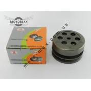 Вариатор задний (сцепление) Yamaha BWS/Axis 100cc (4VP) (в сборе с чашкой )