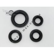 Сальники комплект Honda Dio/Lead-50, из 4х