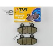 Колодки дискового тормоза Вайпер Актив/GY6 50-150cc два уха (WH-125) TVR