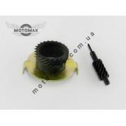 Шестерня привода спидометра с червяком, Вайпер Актив/Honda Lead