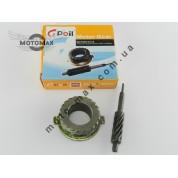 Шестерня привода спидометра с червяком, китаец  CG-125cc, Gpoil
