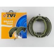 Колодки барабанного тормаза 4т GY6-50/150сс 13 колесо (с насечками) TVR