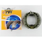 Колодки барабанного тормоза Honda Lead 50/90/Дельта/GY6-50/ 60/80/Альфа/Актив (пружина прямая) TVR