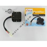 Регулятор напряжения 4т GY6-125/150сс 4 провода (фишка папа)