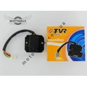 Регулятор напряжения 4т GY6-125/150сс 5 проводов (фишка мама)  FXD-125 TVR