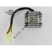 Регулятор напряжения 4т GY6-125/150сс 5 проводов (фишка папа)