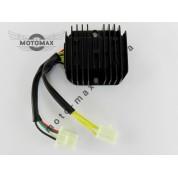 Регулятор напряжения 4т GY6-125/150сс 7 проводов (3+4 фишка мама)