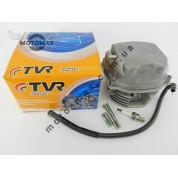 Головка цилиндра в сборе 4т GY6 150сс  с  распредвалом и крышкой клапанов TVR