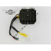 Регулятор напряжения 4т 200/250сс 6 проводов (3+3 фишки мама)