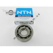 Подшипник коленвала SC04A47... (20*52*12) NTN (10 шариков) Honda Dio-18/27/Tact-24