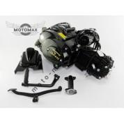 Двигатель Дельта/Альфа/Актив 110cc, Автомат (выбито 49cc) Черный