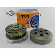 Вариатор задний (сцепление) Honda LEAD-48/Dio-35NEW/Dio-56/FIT (в сборе с чашкой) TVR