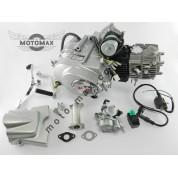 Двигатель Дельта/Альфа/Актив 110cc, механика, (карбюратор, коммутатор, катушка)