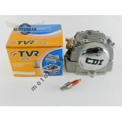 Головка цилиндра в сборе Дельта/Альфа/Актив 125cc (с увеличенными клапанами) TVR