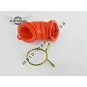Патрубок воздушного фильтра Yamaha (большой) красный