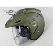 Шлем без подбородка VR-1 №370, титаново-матовый