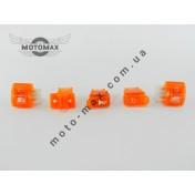 Кнопки комплект Honda Dio AF 18/27/34/35 (оранжевые)