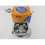 Головка цилиндра голая 4т GY6-80сс (139QMB) с клапанами TVR