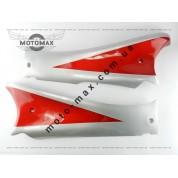 Косынка (лыжи) QT-9/Viper STORM (серые с красным)