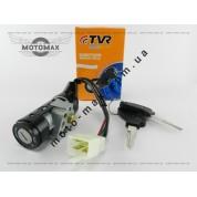 Замок зажигания (голый), ТВ-50/Honda Lead-90/Dio-18/Tact/ Вайпер Актив 4 провода TVR
