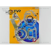 Прокладки цилиндра Honda Lead 90cc, ø-48мм (комплект) TVR (лепест.клапан)