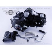 Двигатель Дельта/Альфа/Актив 125cc механика (черный)