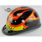 Шлем подростковый открытый (каска) черный