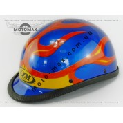 Шлем подростковый открытый (каска) синий