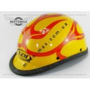 Шлем подростковый открытый (каска) желтый