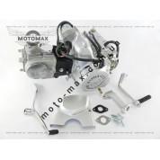Двигатель Дельта/Альфа/Актив 70cc механика (серебристый)